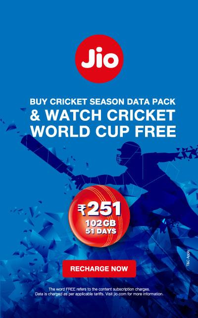 Image result for jio unlimited cricket season sixer pack
