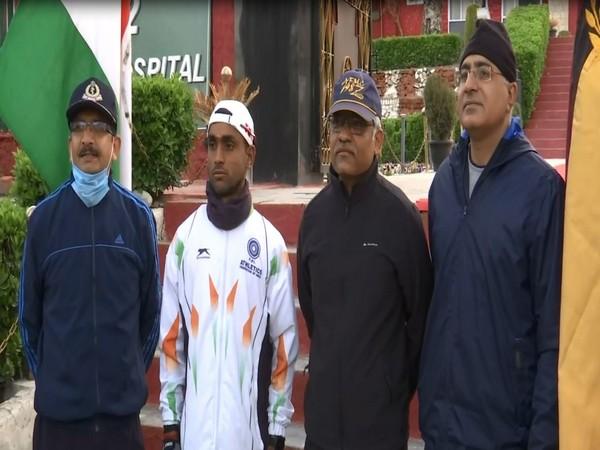 Army man set to run 4,000 Km from Kashmir to Kanyakumari in 50 days