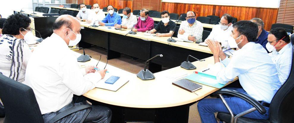 DC-Jammu-Covid-meeting-the dispatch