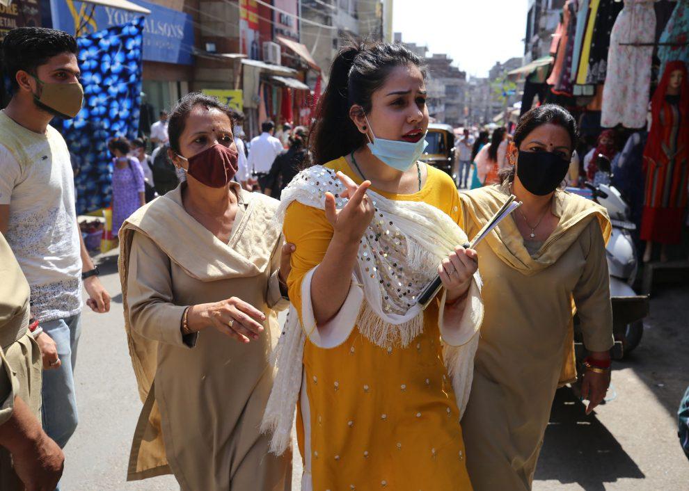 COVID test in Jammu-The Dispatch