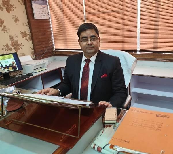 Deputy Commissioner Rajouri, Rajesh K Shavan-The Dispatch